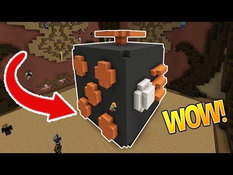 1000 MPH FIDGET CUBE! (°ロ°) (Minecraft Build Battle)