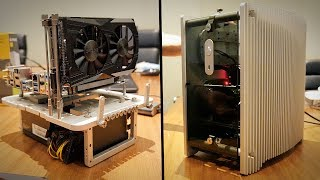 Streacom's PASSIVELY COOLED Micro-ATX Case & Cutest Mini-ITX Test Bench Ever!