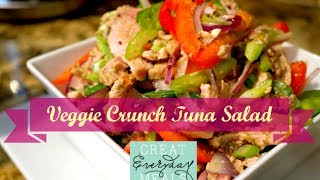 Veggie Crunch Tuna Salad | Great Everyday Meals By Momma Cuisine