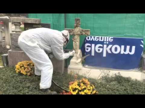 Ciscenje nagrobnih spomenikov