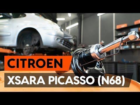 Как заменить стойку амортизатора передней подвески на CITROEN XSARA PICASSO (N68) [TUTORIAL AUTODOC]