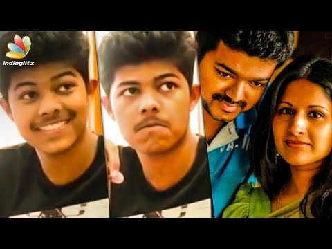 After Thalapathy's Son, his wife Reveals her Hidden Talent | Jason Sanjay, Sangeetha Vijay