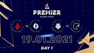 Astralis vs EG, G2 vs Furia | BLAST Premier Global Final Day 1