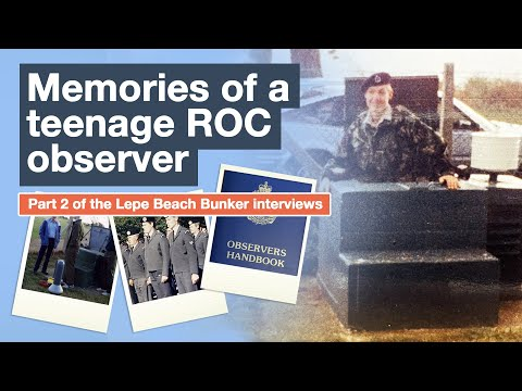 Memories of a Teenage ROC Post Observer at Lepe Beach Bunker