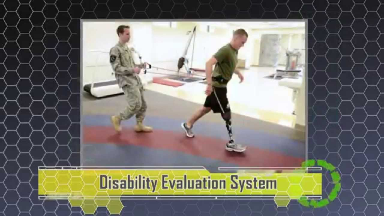 disability evaluation system des youtube