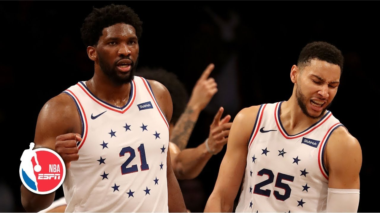 Joel Embiid, 76ers pull out dramatic victory vs. Nets in chippy Game 4 | NBA Highlights