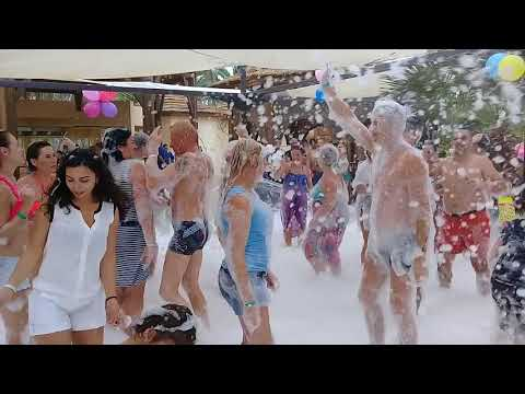 Hôtel Marhaba Resort, Sousse, Tunisie russia foam party