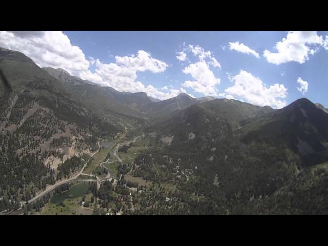 Marble Colorado landing and takeoff in Cessna T210M