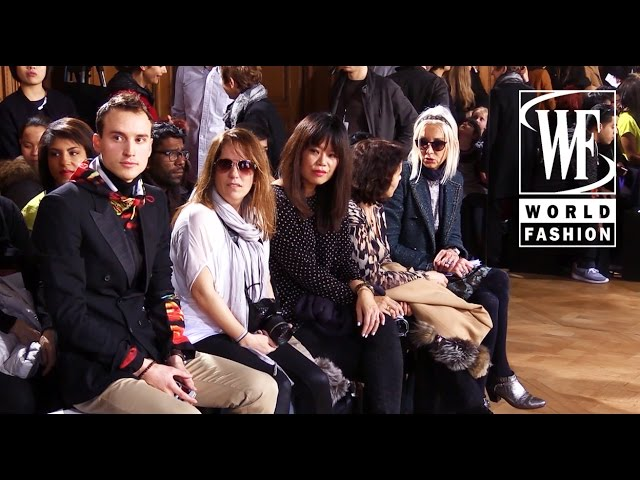 Front Row Sharon Wauchob Fall-Winter 15-16 Paris Fashion Week