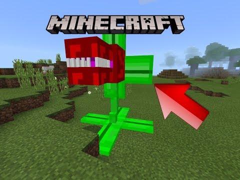 Des Plantes Carnivores Dans Minecraft (Pe)
