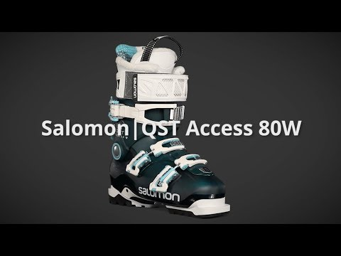 2019 Salomon QST Access 80W Womens Boot Overview by SkisDotCom
