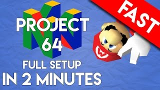 PROJECT64 Emulator for PC: Full Setup and Play in 2 Minutes (The Best Nintendo 64 Emulator)
