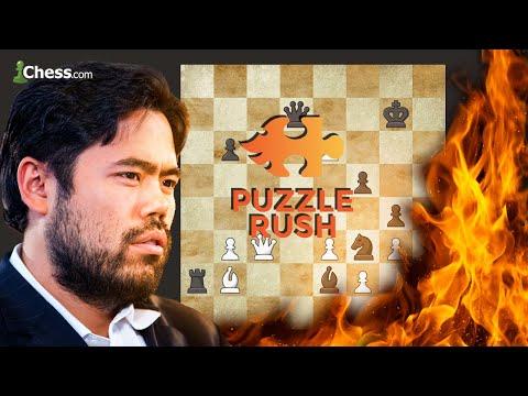 "Hikaru Nakamura Attempts ""One More"" Puzzle Rush"