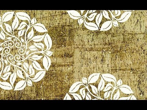 Gold And White Wallpaper