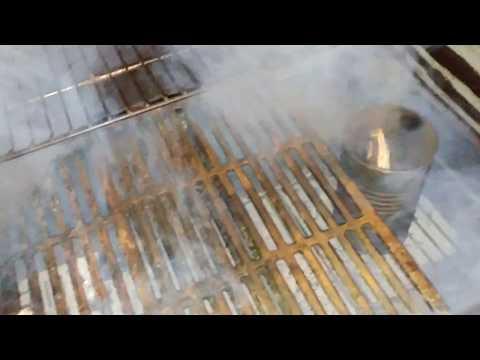 Tin can smoke generator