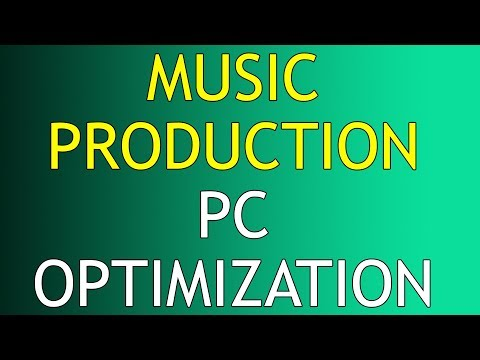 Optimize Windows PC for Music Recording & Mixing DAWs Production part 1/2