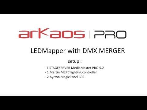 ArKaos MediaMaster 5.2: DMX Merger Tutorial