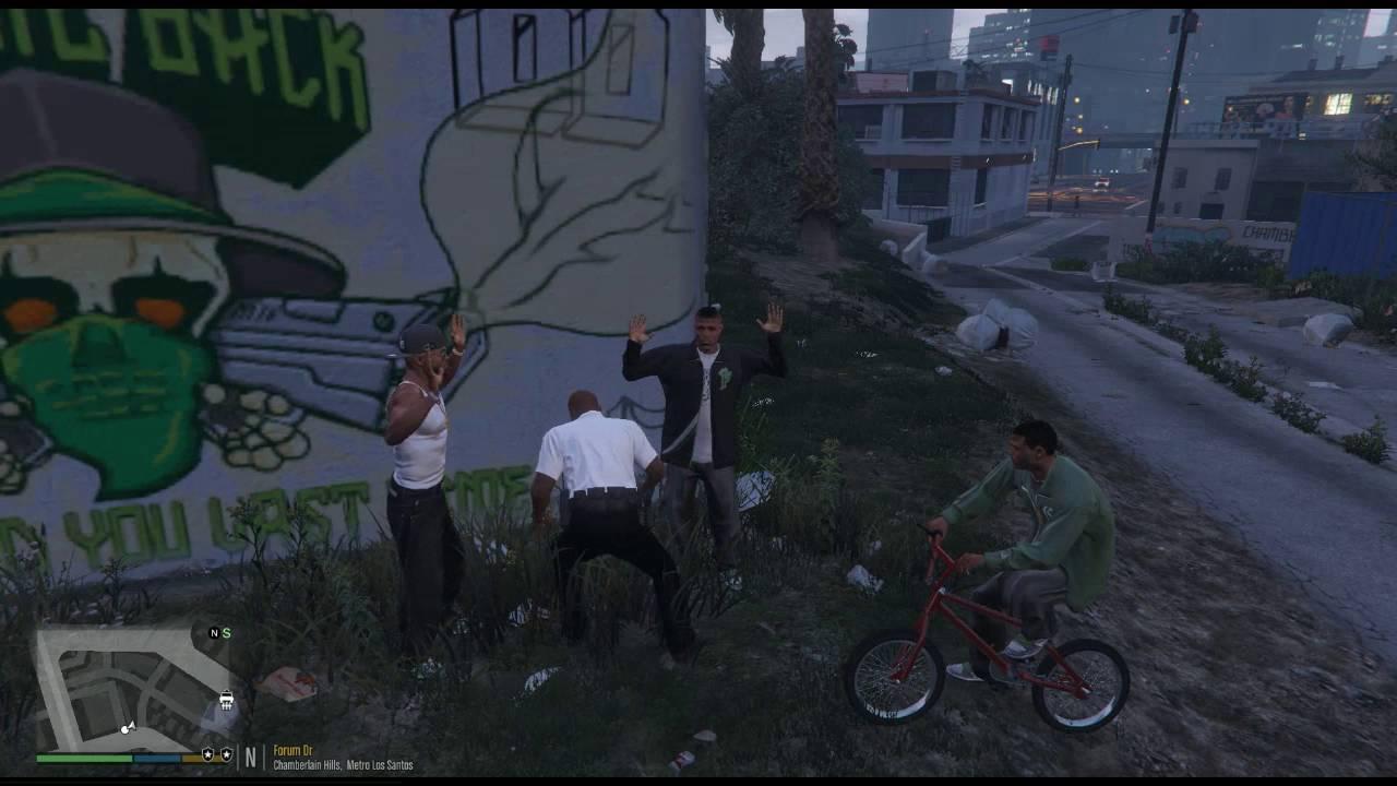 Grand Theft Auto V   LSPDFR Plugin   Search Warrant