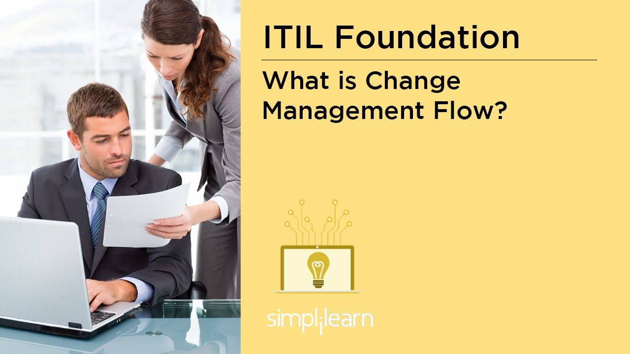 What Is Change Management Flow Itil V3 Foundation Training Youtube