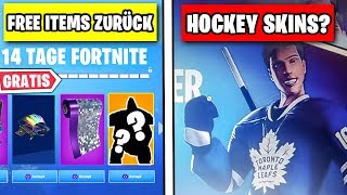 FREE Items Coming Back 🏒 Hockey NHL Skins? | Fortnite Season 7 Leakcheck English
