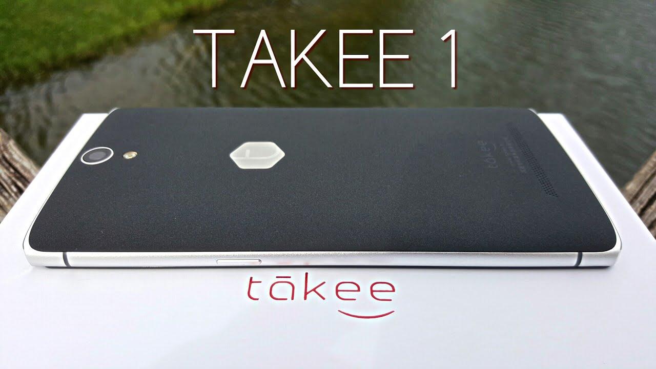 Takee 1 Holographic 3D смартфон с двумя динамиками и камерой Sony .