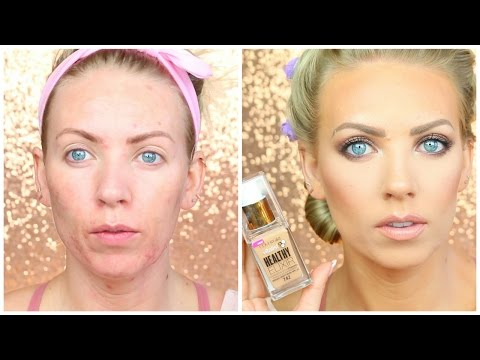 Covergirl Vitalist Healthy Elixer Foundation   First Impressions & Demo