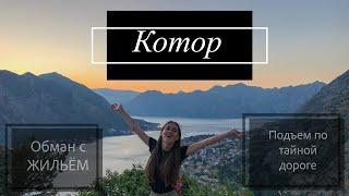 Kotor Montenegro Котор Черногория Crna Gora Подъем на гору Старый город Июнь 2019