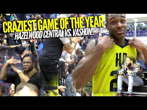 CRAZIEST SAINT LOUIS HIGH SCHOOL BASKETBALL GAME OF 2018!!! Feat. Cameron Williams