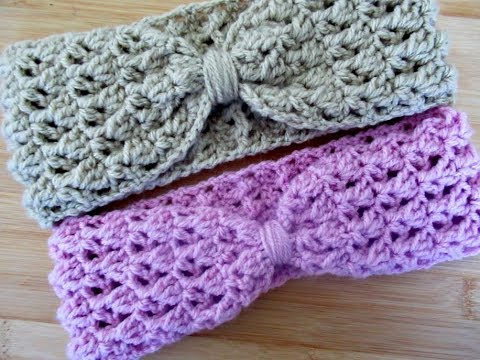 Bright Crochet Baby Headband/ Ear Warmer Baby & Toddler Clothing Clothing, Shoes & Accessories