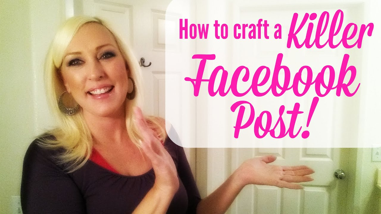 how to create the perfect facebook post