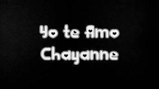 Yo te Amo ( Chayanne )