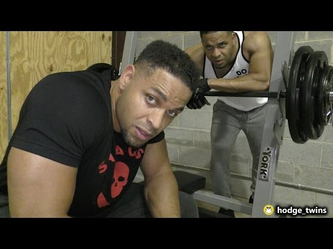 Chest Workout In Our New Gym @hodgetwins