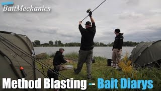 Method Blasting, SBM Carp Fishing Bait Diarys