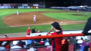 fan gets hit with baseball at vancouver canadians game