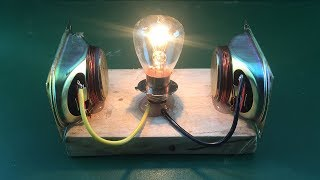 Amazing Free Energy 100% Generator With Speaker Magnet New Science Ideas Technology 2019