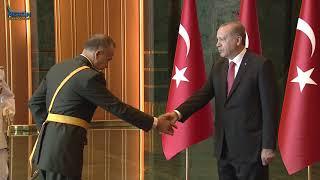 Cumhurbaşkanı Recep Tayyip ERDOĞAN 30 Ağustos Zafer Bayramı Tebriklerini Kabul