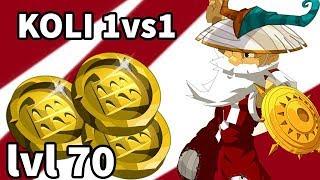 Enutrof : Koli 1vs1 level 70 Dofus. Rox à la massacrante !
