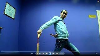 Видеоуроки нунчаку- подкидывания из под ног за спину