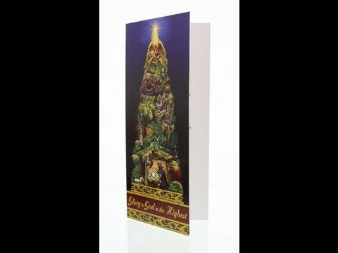 Glory to God In The Highest Catholic Christmas Card Box Set