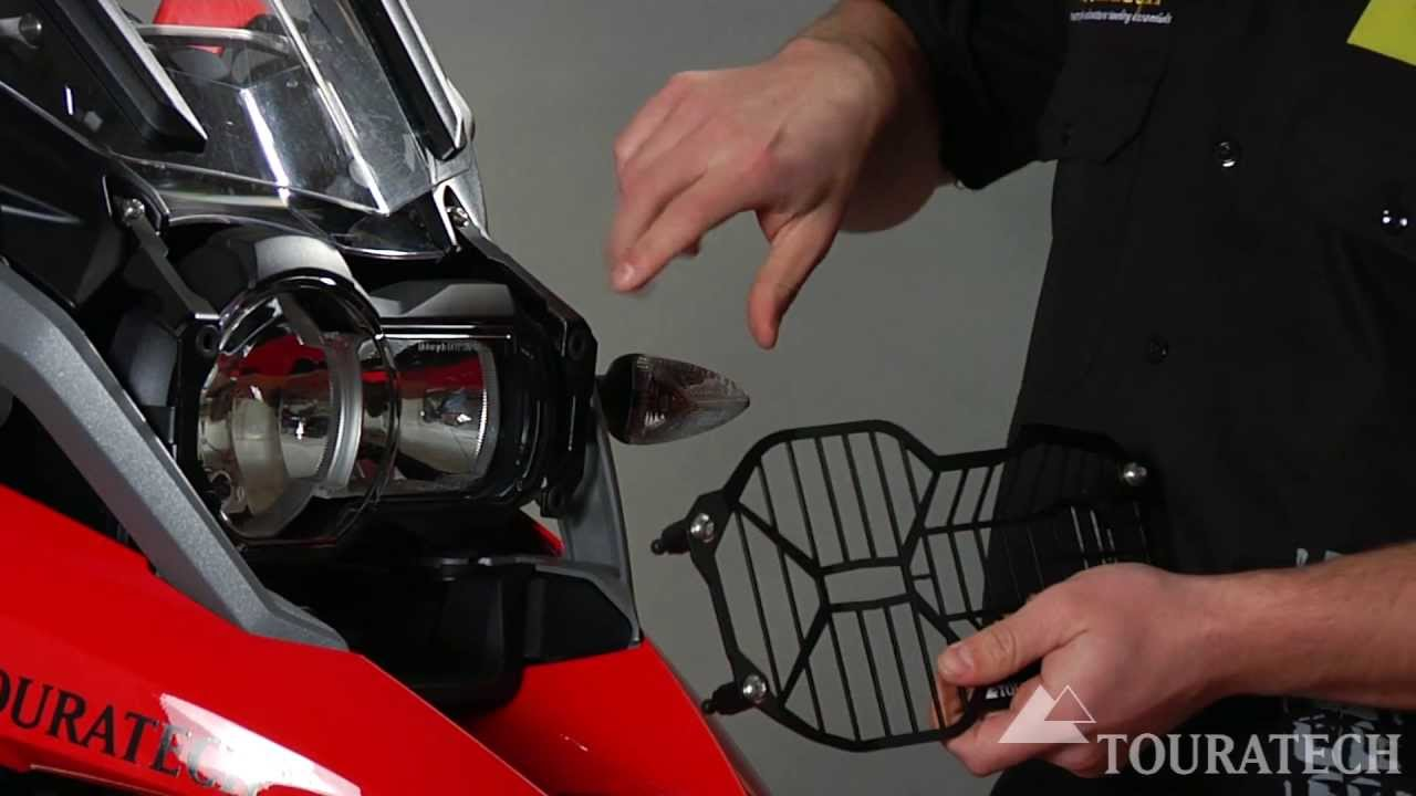 Headlight Protector Quick Release Fastener LED Headlight For BMW R1200GS LC