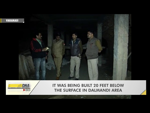 Illegal underground market in Varanasi busted by police