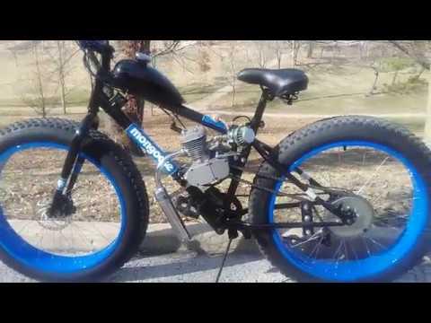 80cc Fat Tire Motorized Mongoose Youtube