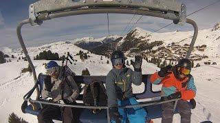 La Plagne Paradiski Snowboarding Holidays condensed Vlog
