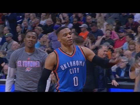 Russell Westbrook 4th Consecutive 40+ Game! Thunder vs Suns