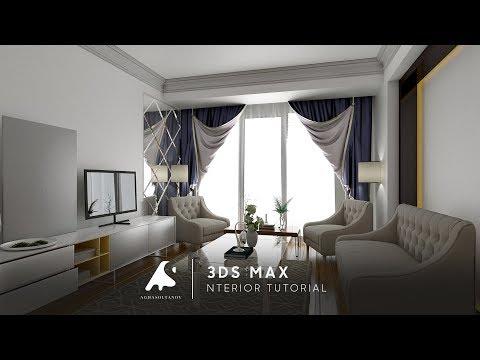 3Ds Max 2017 Interior Tutorial Modeling Design