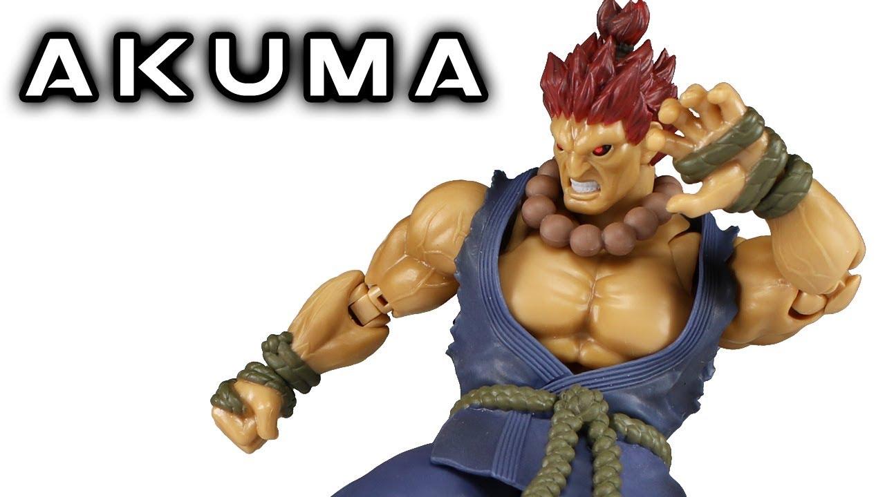 Bandai Tamashii Nations S.H Figuarts Akuma Gouki Street Fighter Action Figure