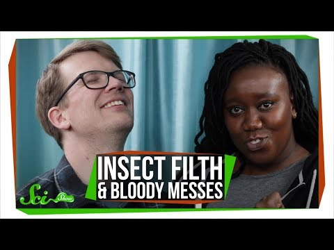 Insect Filth and Bloody Messes with Evelyn From The Internets!