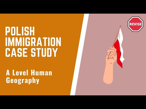 As Human Geography - Migration Case Study ~ Poland To The UK