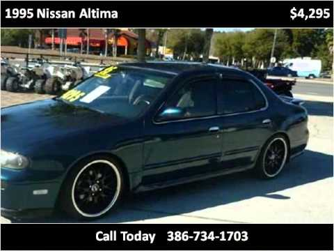 1995 Nissan Altima Used Cars Deland FL - YouTube