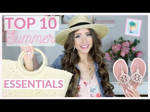 TOP 10 SUMMER WARDROBE ESSENTIALS 2019 | CLOTHING, SHOES + M